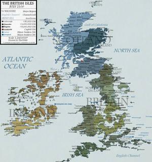British Isles in 2100