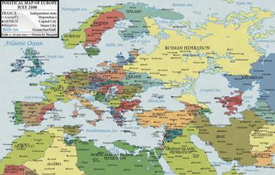 Europe in 2100(Version 1.1)