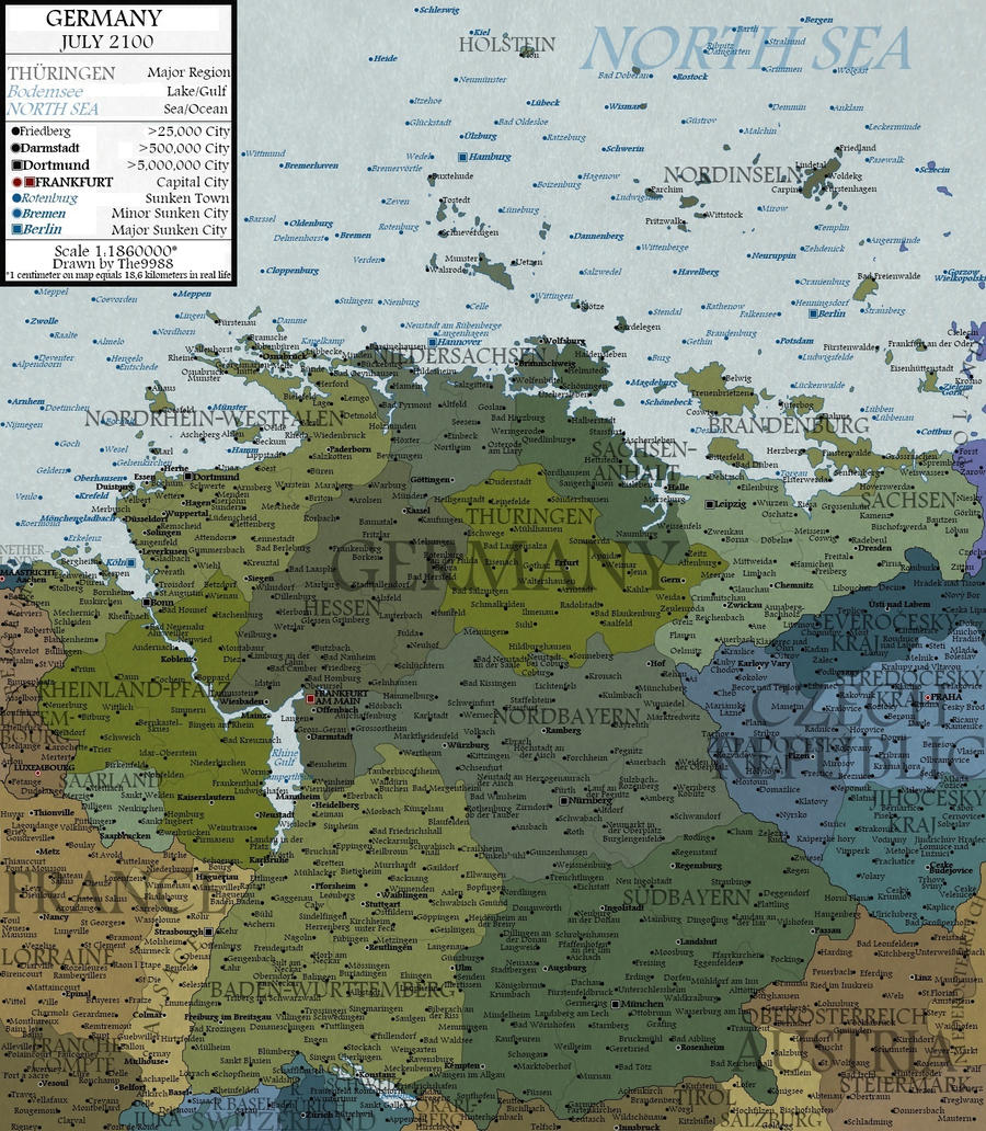 Germany in 2100 by JaySimons