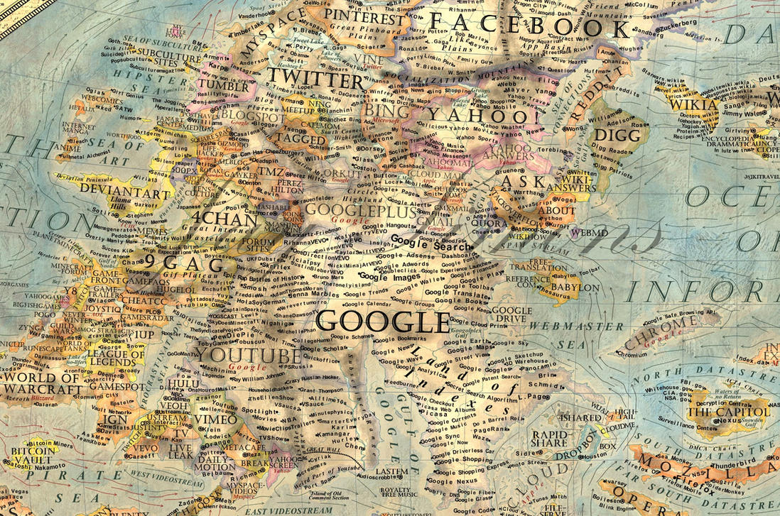 map of the internet(quadrant ) by jaysimons on deviantart - map of the internet(quadrant ) by jaysimons