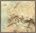 Europe in 1 A.D.