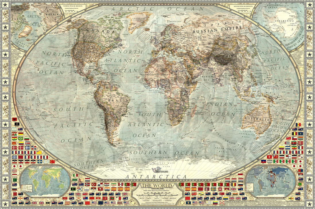 The World 1914 by JaySimons on DeviantArt