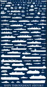 Ships throughout History