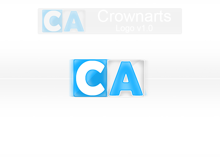 Crownarts Logotype notused by Overgraphics