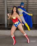 Wonder Woman Batgirl Team Up