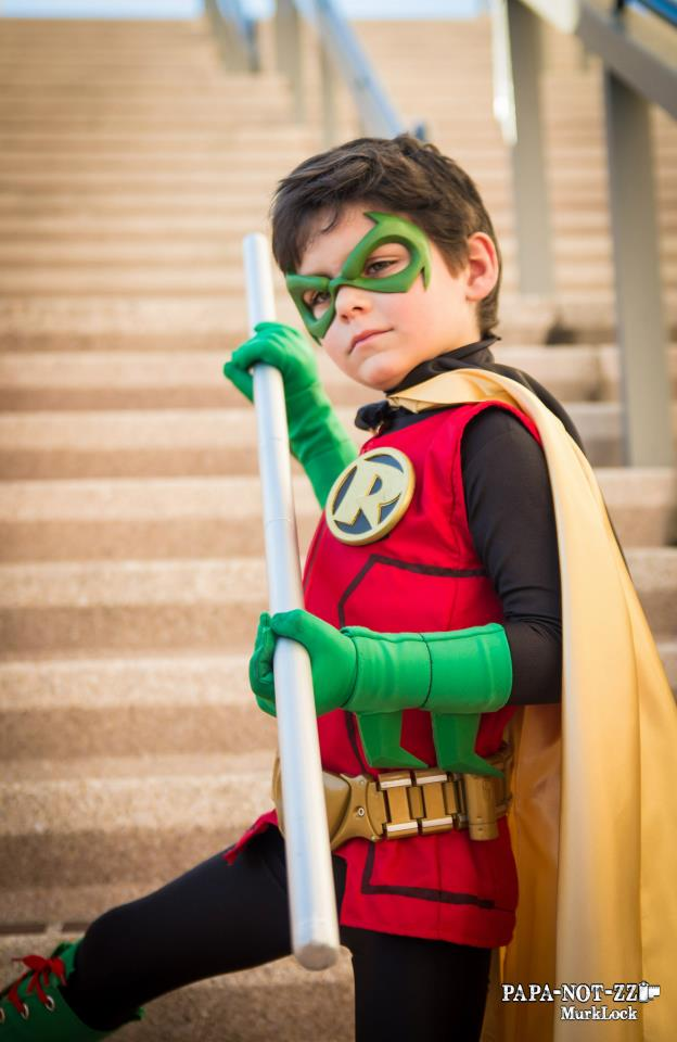 Damian Wayne Robin by ComicChic19