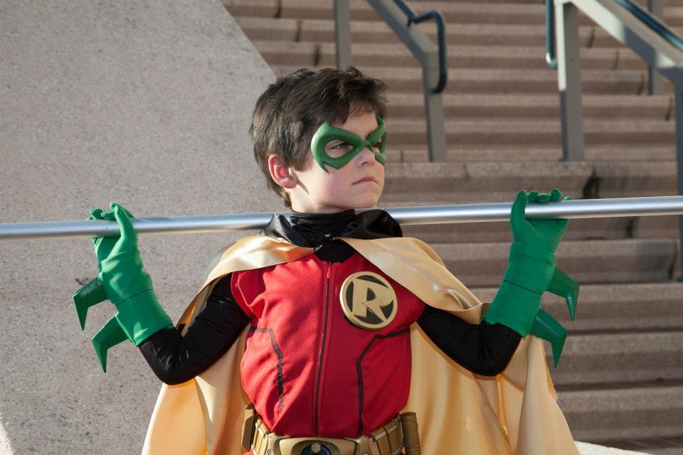 Robin Damian Wayne by ComicChic19