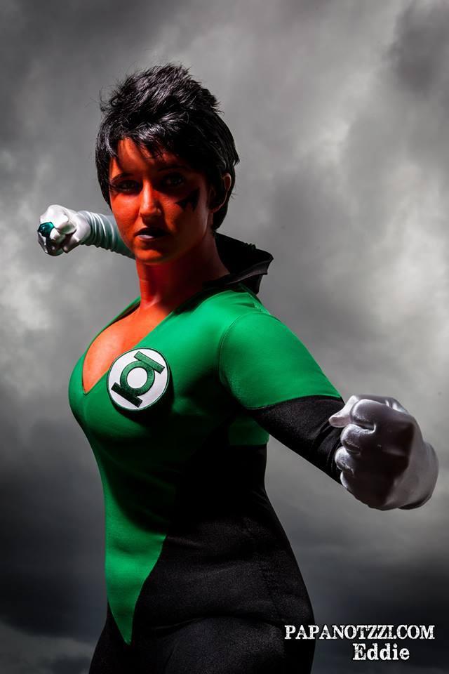 Beware My Power GREEN LANTERNS LIGHT!! by ComicChic19