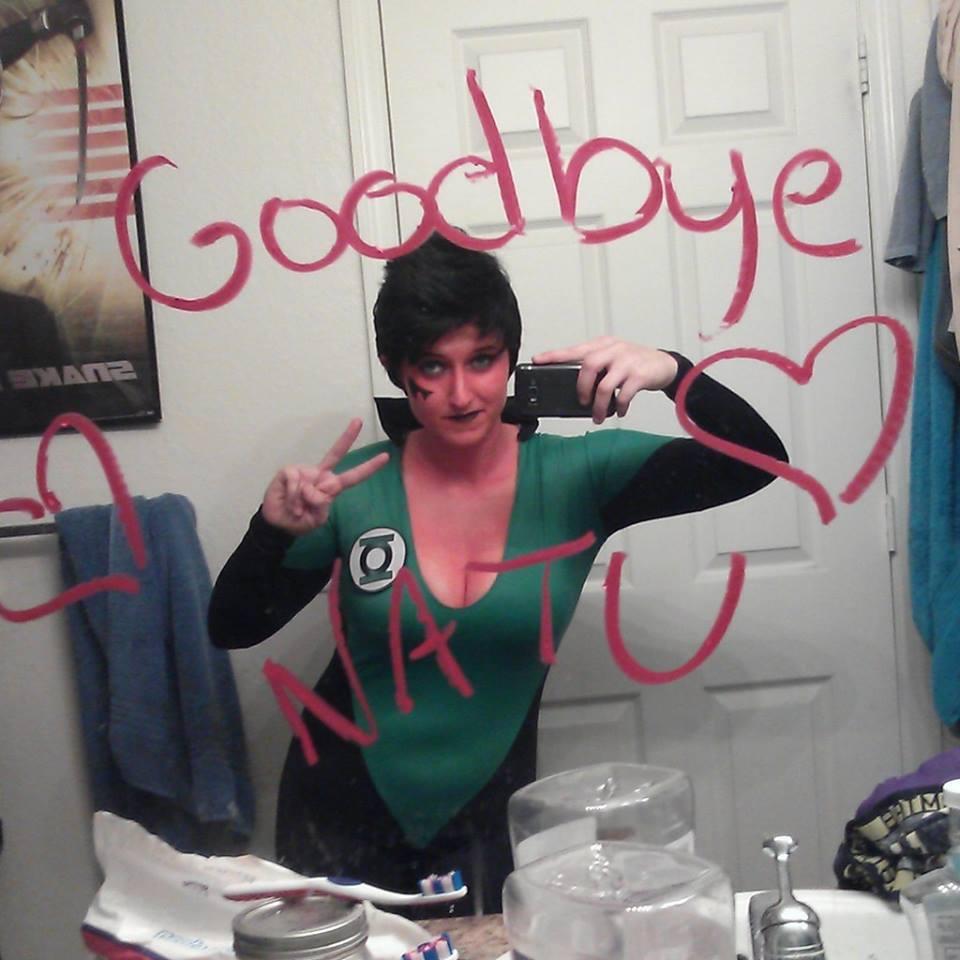 Good Bye Green Lantern Soranik Natu by ComicChic19