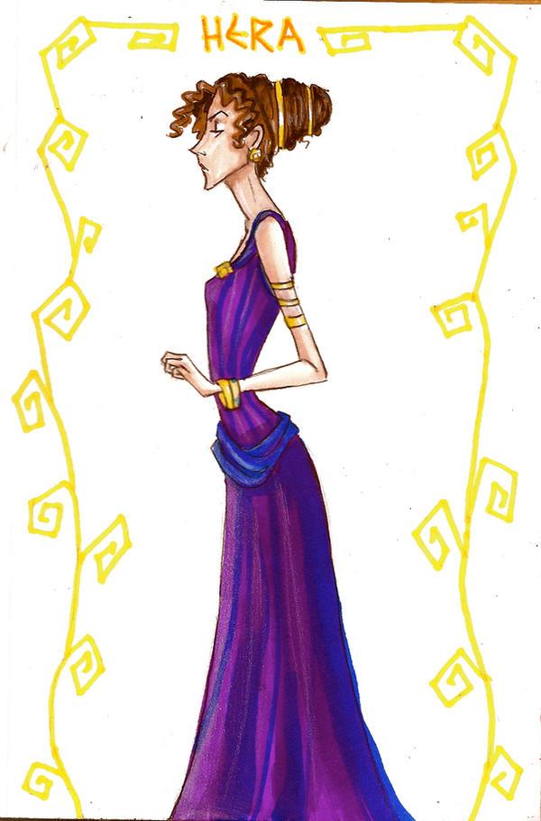 Hera by Muirin007 on DeviantArt Hera Drawing Easy