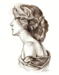 Profil d'une Femme by Muirin007