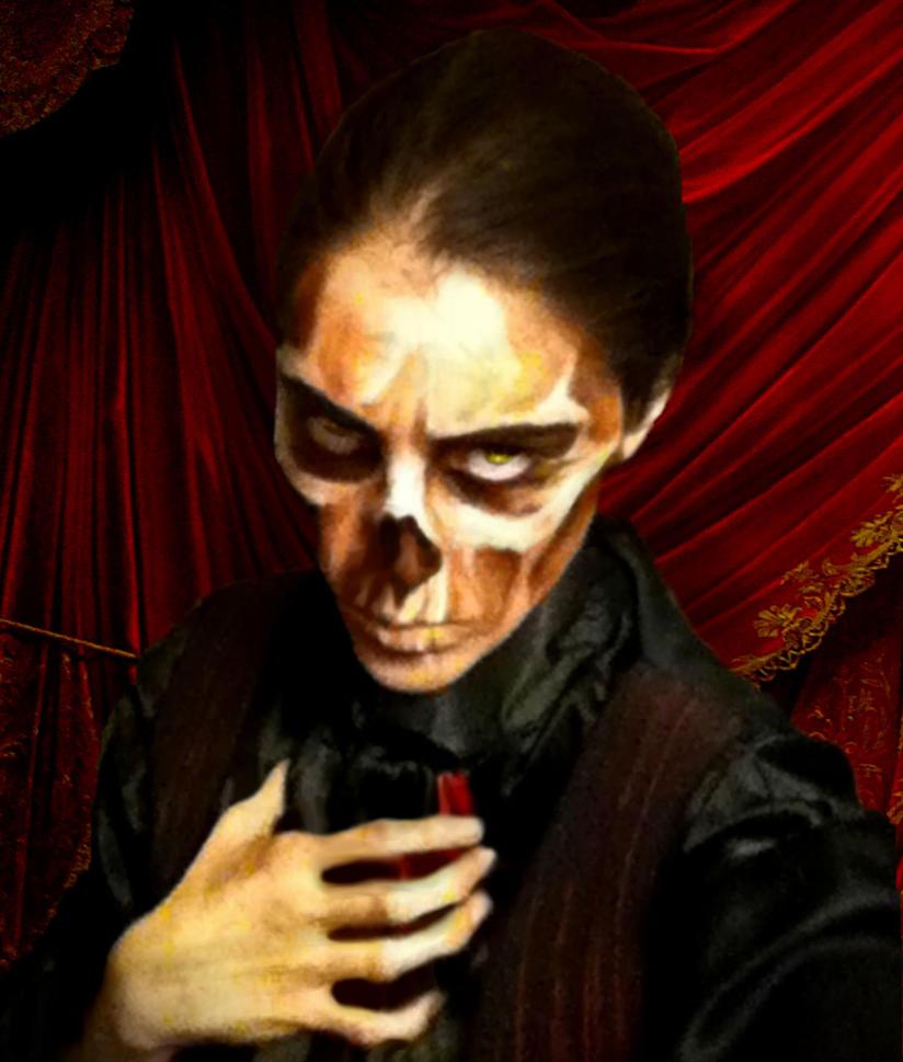 Phantom Face Paint