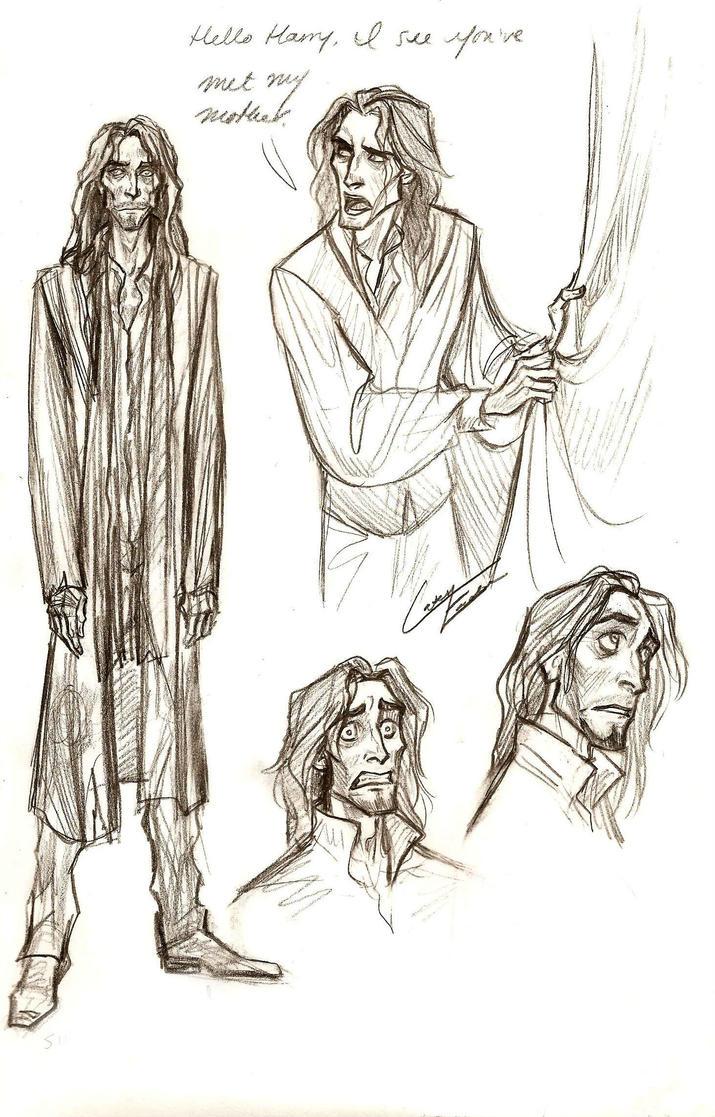 Godfather doodlin' by Muirin007