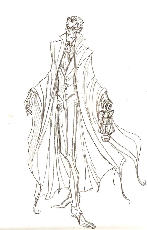 Erik sketch by Muirin007