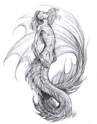 Deep Sea Merman by Muirin007