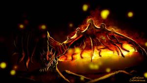 Hot wing!!! (Zenith Rathalos Speedpaint)