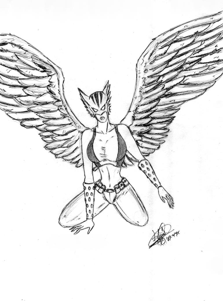 hawkman coloring pages - photo#17