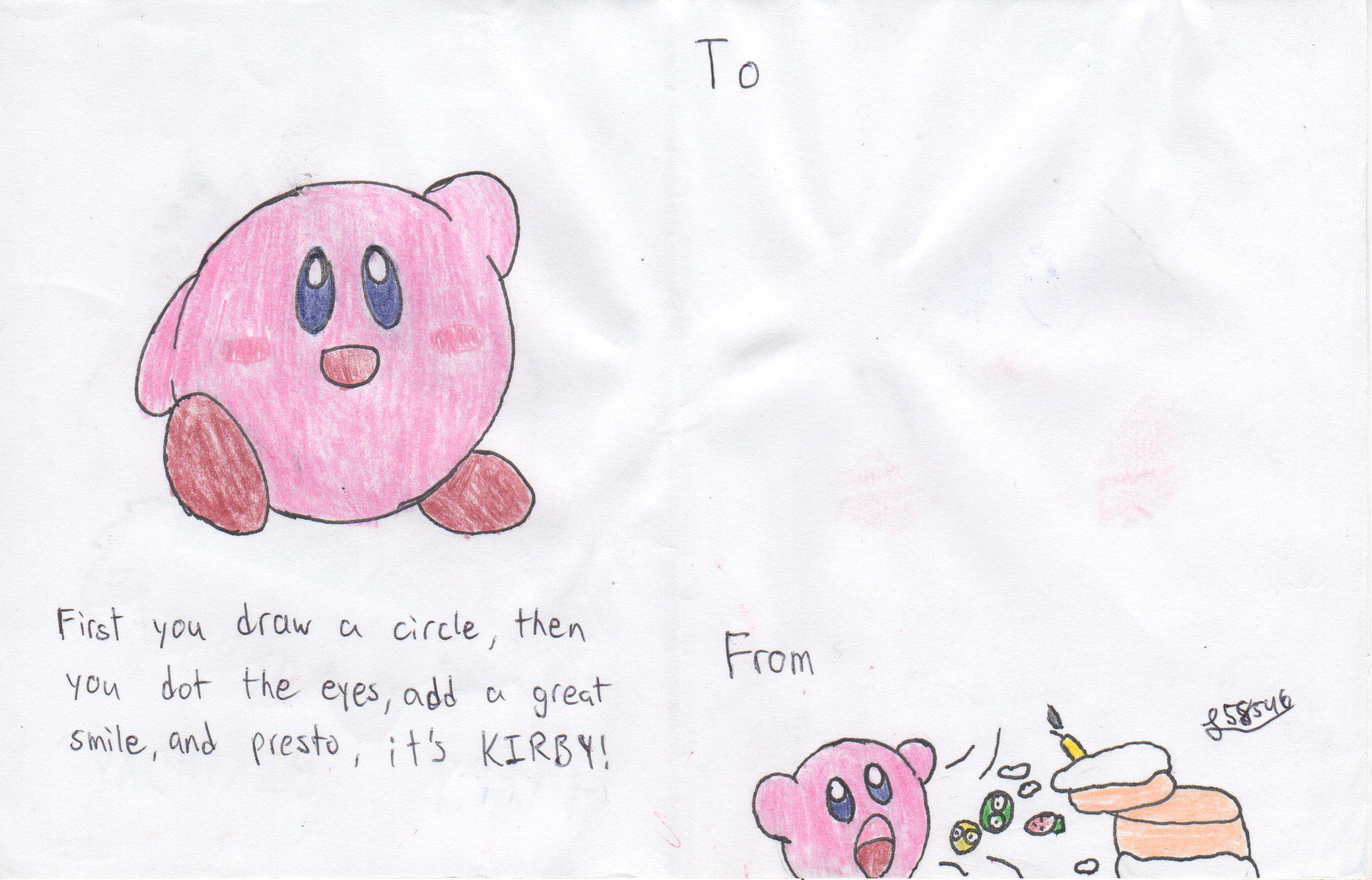 Kirby Birthday Card by Luigi on DeviantArt