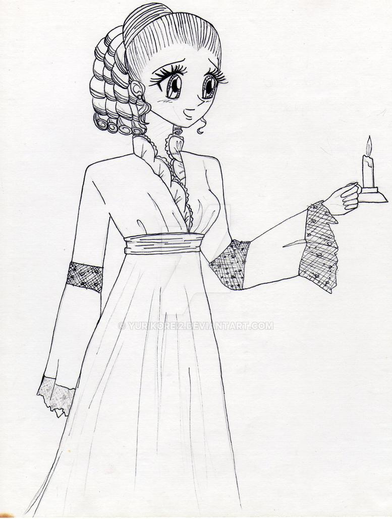 Dama con Vela by yurikorei2