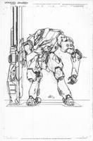 Jackal Custom Heavy Suit by mikecharles