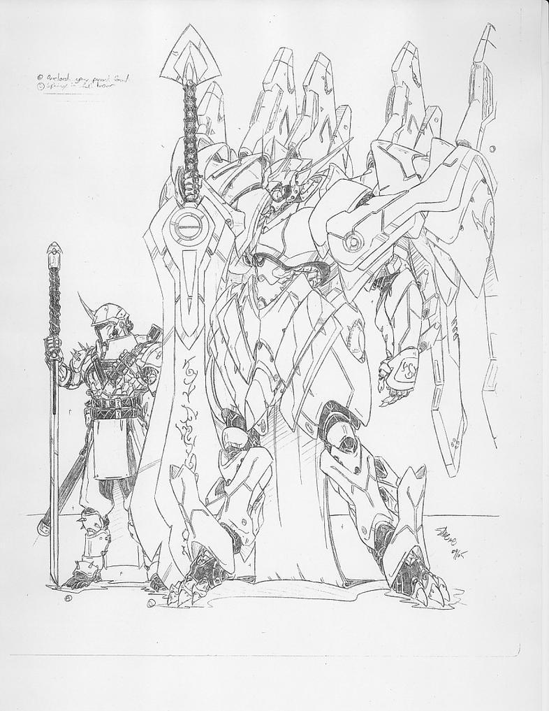 Sphinx Warskin by mikecharles