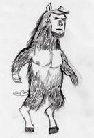 Bear Pig Man by jeinowsky