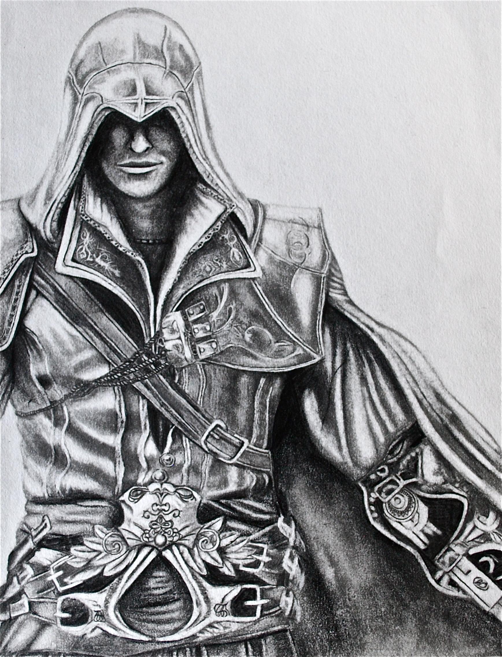Draw Ezio