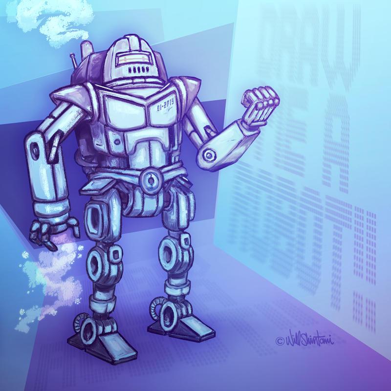 Draw Me a ROBOT by shintani
