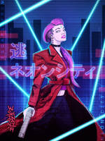 Escape from Neon City by shintani