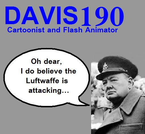 Winston Churchill by Davis190