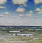 Clouds and Sea [oil]