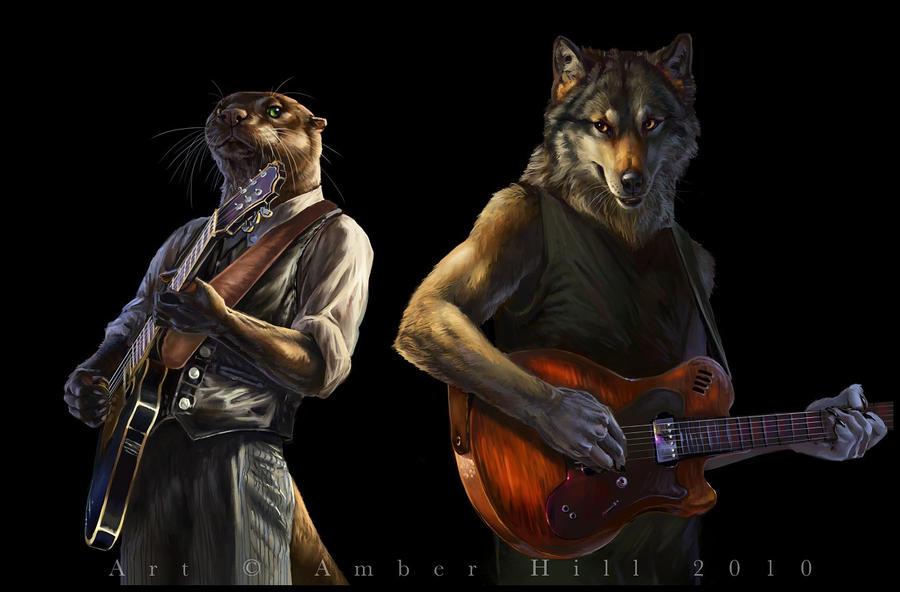 Ассоциации на персонажей - Страница 6 Muddy_waters_and_howlin_wolf_by_vantid-d33moby