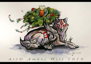 Merry Okami by vantid