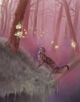 Fire Woods by vantid