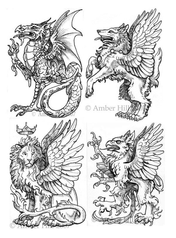Heraldic Quartet by vantid