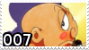 .::007 stamp by Changeling007