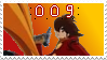 .::009 stamp by Changeling007
