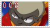 .::008 stamp by Changeling007
