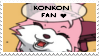 Konkon stamp by Changeling007