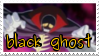 .::Black Ghost Stamp by Changeling007