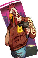Hotline Miami by MaJoee