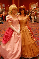 Akon 19 Peach and Daisy by WeepingWillowofCatz
