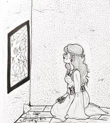 Inktober Day 12: Shattered by TanoshiiGirl