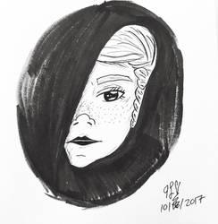 Inktober Day 15: Mysterious  by TanoshiiGirl