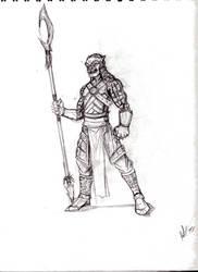 Guard sketch by Chezpizza
