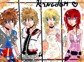 Kingdom Hearts Sanctuary by sorariku100