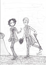Come Watson, come with me by queenfire
