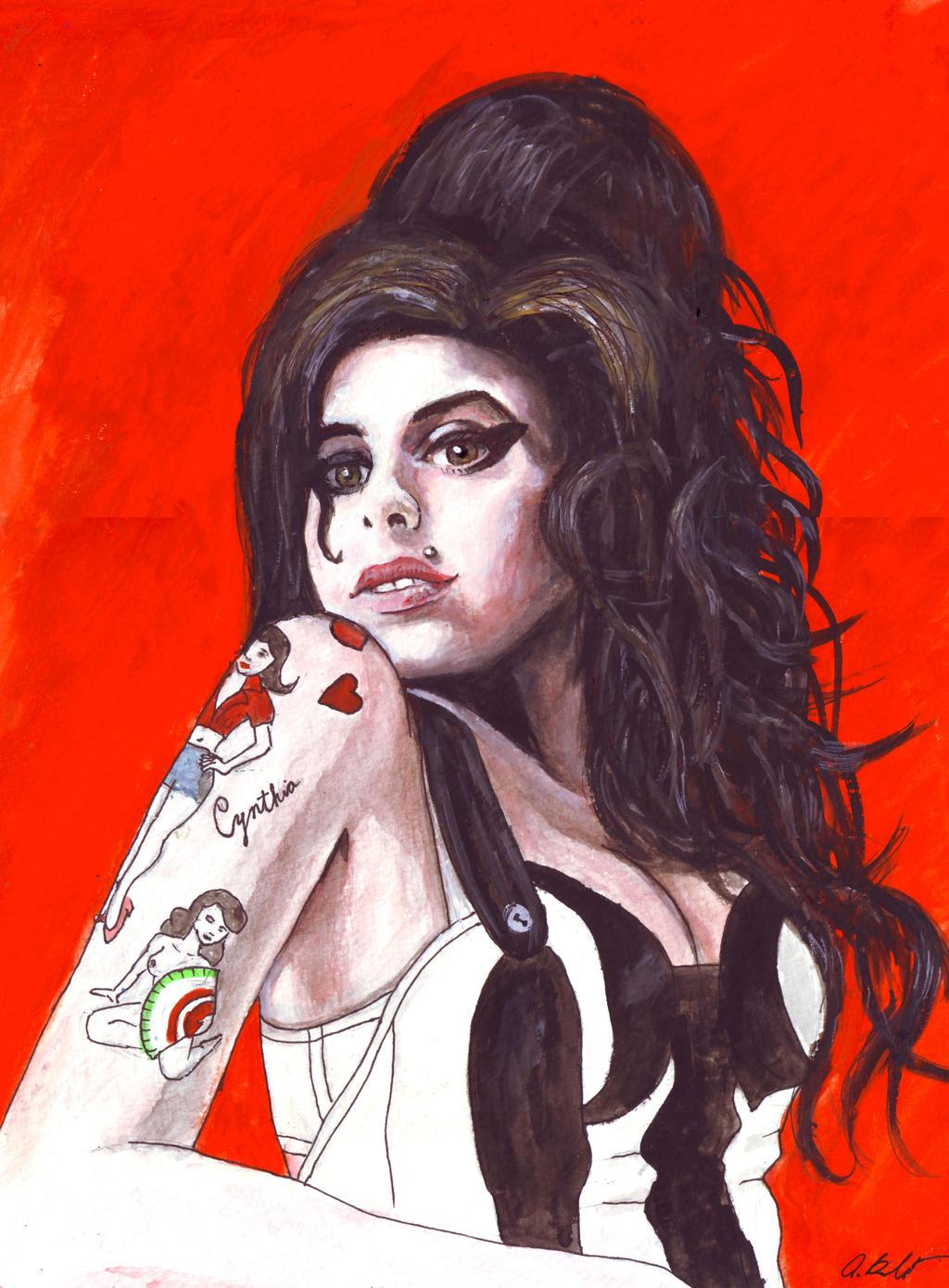 Amy Winehouse by amybalot