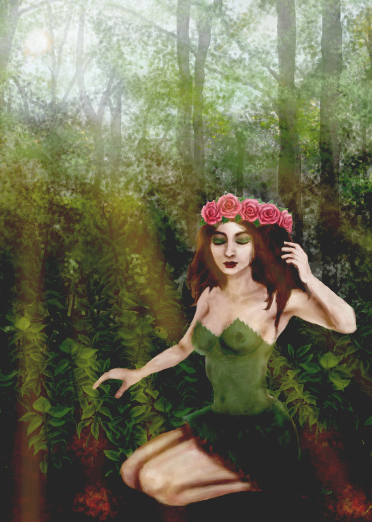 Forest girl by amybalot