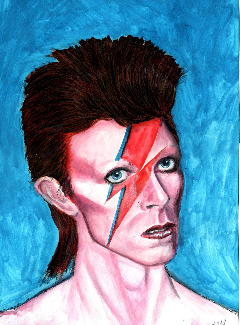 David Bowie by amybalot